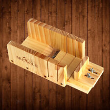 Wooden Box Loaf Soap Cutter Tools Handmade Precision Cutting Soap Trimming