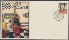 CANADA # 2994.7 FORMULA 1 GILLES VILLENEUVE POSTAGE STAMP on SUPERB FD COVER #7