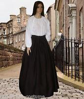 Ladies Victorian  American Civil War Pioneer 2pc costume fancy dress sizes 6-20