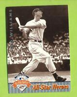 1992 Upper Deck Fanfest All-Star Heroes Silver - Ted Williams (#50)  Red Sox