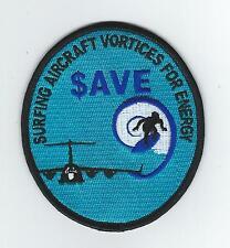 "418th  FLIGHT TEST SQUADRON ""SAVE"" PROGRAM patch"