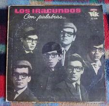 LOS IRACUNDOS Con palabras URUGUAY LP BEAT GARAGE TWANG SURF RCA VIK '65