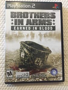 Brothers In Arms Earned In Blood ( Sony PlayStation 2 ) PS2  Complete