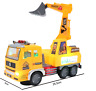 Toys for Kids Electric LED Light Truck Excavator With Sound Music Boys Toy Gift