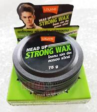 Lolane HEAD UP STRONG WAX Styling Hair Strong Hold Hair Shiny Man Smart 75g.