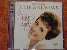 Our Fair Lady - The Divine Julie Andrews, Reader's Digest (CD, 3 x CD's) d1