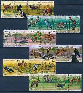 [P15898] Burundi 1977 : Fauna - Good Set Very Fine MNH Airmail Stamps - $150