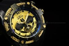Invicta 50mm Mens Bolt DC Comics BATMAN Chronograph Limited Ed Black Gold Watch