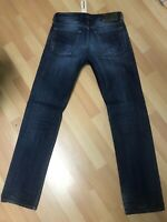 NWD Mens Diesel WAYKEE HARD Denim 0806U DARK BLUE STRAIGHT W28 L32 H7.5 RRP£160