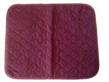 1 of Large Red Wine Washable Wheelchair Seat Armchair Incontinence pad Sheet