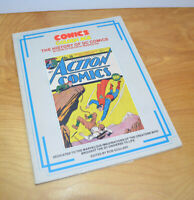 Vintage COMICS: THE GOLDEN AGE THE HISTORY OF DC COMICS SC Book 1985 Superman