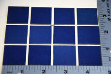 "1118.30 -12 Midnight Blue 1"" x 1"" 3mm Thick Bullseye Glass 90 Coe Compatible"