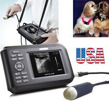 Usa Veterinary Ultrasound Scanner Handheld Unit Animal For Petcatdog Amp Box Fda