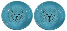 New listing Van Ness Ecoware Cat Dish 8-Ounce 2 Pack Assorted Colors
