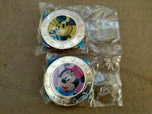 Disney Mickey Mouse and Minnie Mouse Coins- Wonder Mates sealed
