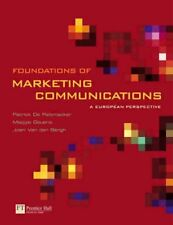 Foundations of Marketing Communications: A ... by Van Den Bergh, Joeri Paperback