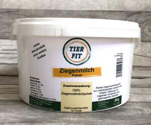 100 % reines Ziegenmilchpulver 2 kg - Hundewelpen, tragende Hündinnen, Senioren