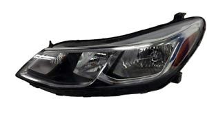 for 2017 2020 Chevrolet Sonic Sedan Left Driver Headlamp Halogen w/LED running