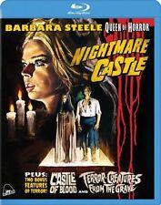 Nightmare Castle (Blu-Ray, 2015) MULTI FORMAT