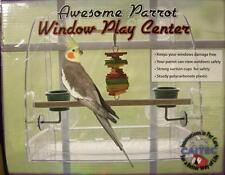 Window Play Pen Center-Get Max Vit D- No Mess Feeder by Caitec - Bird Alert!!