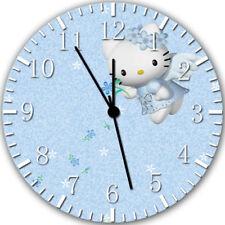 Hello Kitty Frameless Borderless Wall Clock Nice For Gifts or Decor Z110
