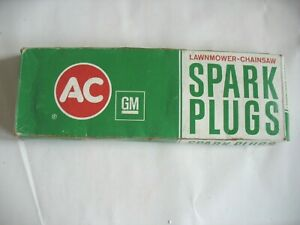 AC DELCO SPARK PLUGS Box of 8 LM49 LAWN MOWER