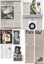 FATS DOMINO : CUTTINGS COLLECTION -advert interview-