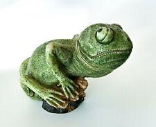 "New ListingHarmony Kingdom Pot Belly's Chalmers Chameleoun Figure 2"" Secret compartment"