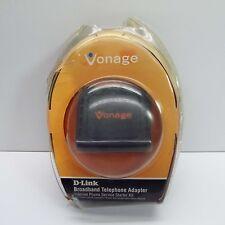 VONAGE D-LINK VTA-VR 950405100013G BROADBAND TELEPHONE ADAPTER 790069700743 (S18