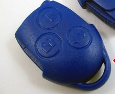 FITS FORD TRANSIT MK7 REMOTE KEY FOB CASE/SHELL BLUE 3 BUTTONS