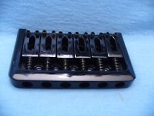 BLACK HARDTAIL BRIDGE BOTTOM LOADER FOR ELECTRIC GUITAR STRAT/TELE USA SHIPPING
