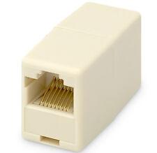 2x LAN Verbinder Kabel Verlängerung Adapter Netzwerkkabel Patchkabel CAT6 7 RJ45