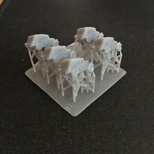 Pack of 5 Kubelwagen   Resin 1:285 Scale For Micro Armour
