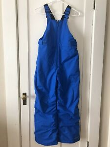 Columbia Youth Kids Bib Blue Overalls Snow Pants Size Large (14/16)