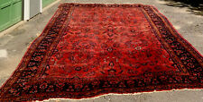 New listing Antique Sarouk Persian Rug 130+Yr Old Hand Knot Large 17 ft X 11 ft Sultan Type