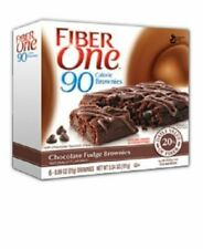 Fiber One 90 Calorie Chocolate Fudge Brownie Bars 5.34 Ounce (2 Pack)