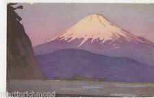 On Board S.S. President, Dollar Steamship Lines, Fujijama Art Postcard, B563