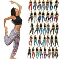 Womens Boho Casual Yoga Harem Trousers Ladies Aladdin Hippies Baggy Pants