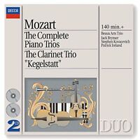 Beaux Arts Trio - Mozart: The Complete Piano Trios; Clarinet Trio [CD]