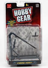New! Hobby Gear: Craftmaster Engine Hoist 1/24 Scale for Diecast Toys (Grey)