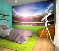 144x100inch Giant wallpaper children's bedroom Stadium at Night photo wall mural
