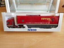 """Eligor / LBS F1 Formula 1 Iveco Eurotech + Trailer """"Ferrari"""" in Red - 1:43 - Box"""