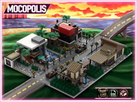 LEGO MOC Modern Custom Houses Bundle (High Tech) | PDF instructions (NO PARTS)