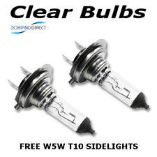 H7 100w Clear Standard Xenon (499) Car Headlight Bulbs 12v + W5W Sidelights BB