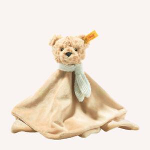 Steiff 242281 Soft Cuddly Friends Jimmy Teddy bear comforter with Steiff GIFT Bo