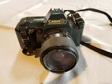 Canon T70 SLR Film Camera with lens