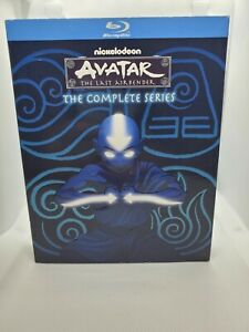 Avatar the last airbender complete series blu ray with slipcover