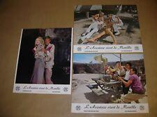 """LOT 16 PHOTOS DU FILM """"L'AVENTURE VIENT DE MANILLE"""" / 24 X 30 / TRES BON ETAT"""