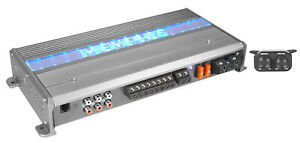 Memphis Audio MXA850.5M Marine/Boat 5 Channel Amplifier Amp (100x4 + 450x1)