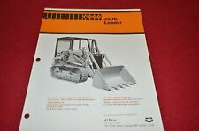 Case Tractor 350B Crawler Loader Dealers Brochure DCPA4